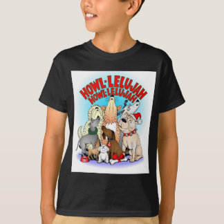 Dogs Christmas Kids T-shirts