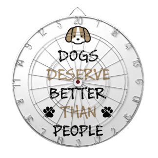 Dogs Deserve Better Dartboard
