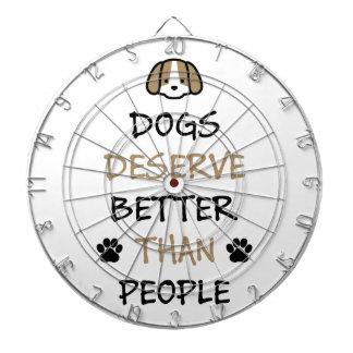 Dogs Deserve Better Dartboards
