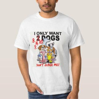 DOGS: don't judge me! t-shirt (men's)