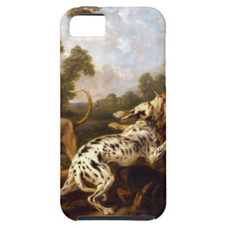 Dogs fighting by Frans Snyders iPhone 5 Cover