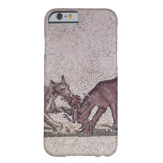 Dogs Fighting for a Bird, Roman, 2nd-3rd century ( iPhone 6 Case