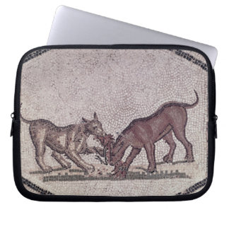 Dogs Fighting for a Bird Roman 2nd-3rd century Laptop Computer Sleeve