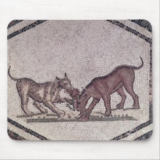 Dogs Fighting for a Bird, Roman, 2nd-3rd century ( Mouse Pad