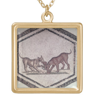 Dogs Fighting for a Bird, Roman, 2nd-3rd century ( Necklace