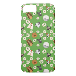 Dogs & Flowers iPhone 8/7 Case