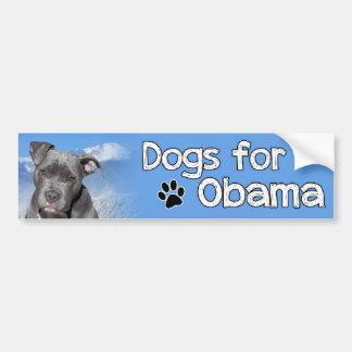 Dogs for Obama Bumper Sticker