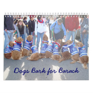 Dogs for Obama Calendar