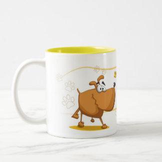 Dog's Goal Two-Tone Mug
