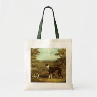 Dogs, Greyhound and Spaniel, Doctor Fop by Herring Tote Bag