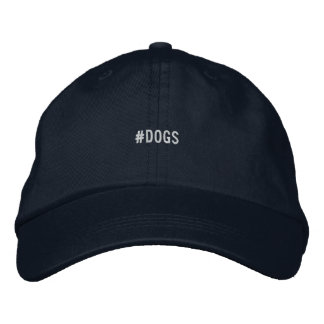 DOGS hat Embroidered Hats