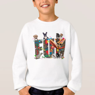 Dogs Having Fun Sweatshirt