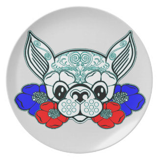 Dog's Head 2 Plate