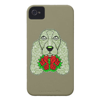 Dog's Head 3 iPhone 4 Cover
