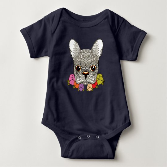 Dog's Head Baby Bodysuit