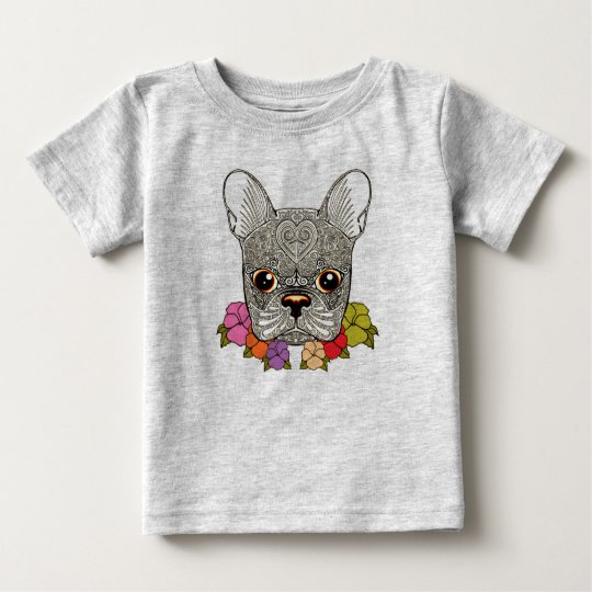 Dog's Head Baby T-Shirt