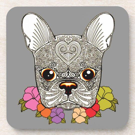 Dog's Head Drink Coasters