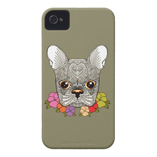 Dog's Head iPhone 4 Case-Mate Cases