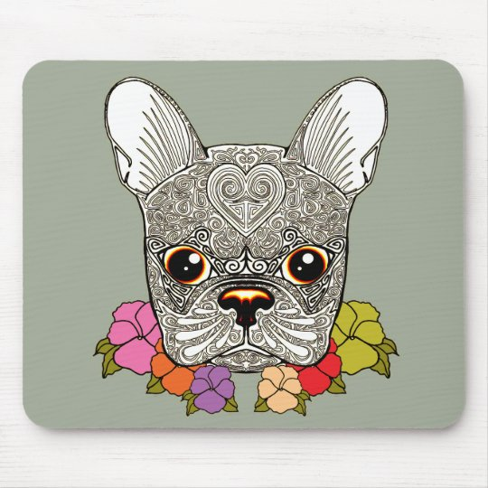 Dog's Head Mouse Pad