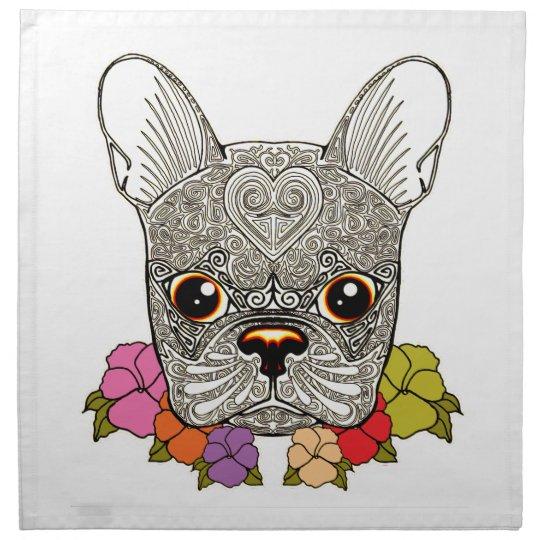 Dog's Head Napkin