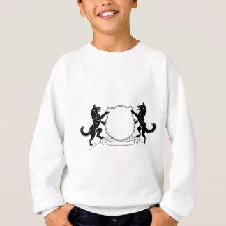 Dogs Heraldic Coat of Arms Crest Shield Sweatshirt