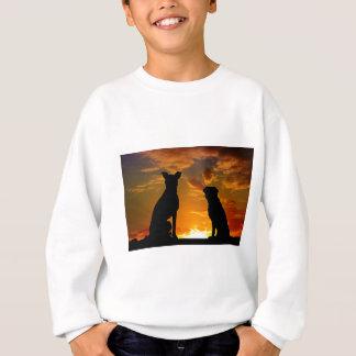 Dogs in the Sunset Sweatshirt