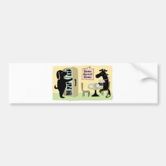 Dog's Kitchen Bumper Sticker