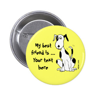 Dogs laugh with their tails button