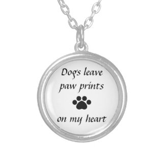 Dogs Leave Paw Prints - Necklace