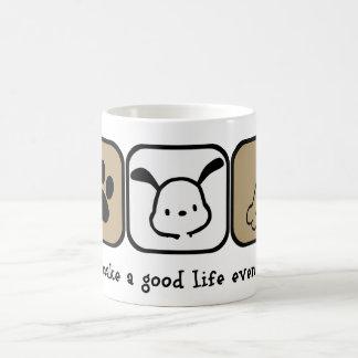 Dogs Make A Good Life Even Better  coffee mug