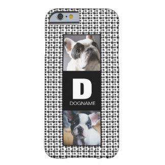 Dog's Monogram Name Case IPhone French Bulldog