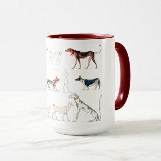 Dogs of Ancient Egypt Mug