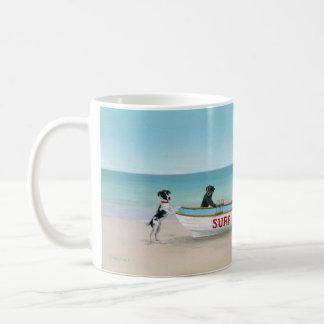 Dogs on the Beach Themed Mug Themed