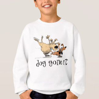 Dogs Playing And Ice Skating -T- Shirts