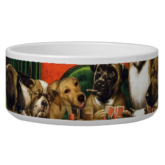 Dogs playing poker - funny dogs -dog art