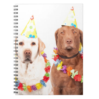 dogs spiral notebooks