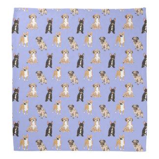 Dogs Vector Seamless Pattern Bandana