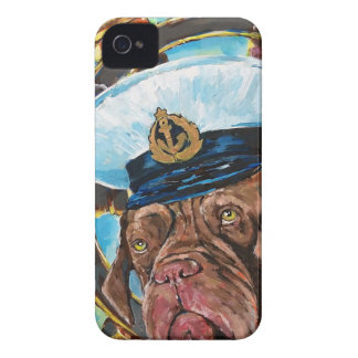 Dog's Year // Sailor's Dog // Gift to him iPhone 4 Case