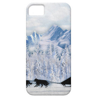 Dogsledding iPhone 5 Cases