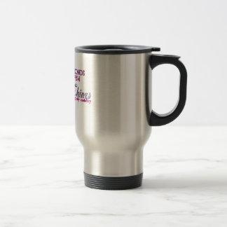 Dogtags & Diamonds (FEMALE TROOPS) Stainless Steel Travel Mug