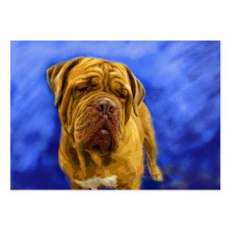 Dogue de Bordeaux ACEO Art Trading Cards Business Card Templates