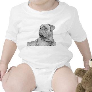 Dogue de Bordeaux baby Romper