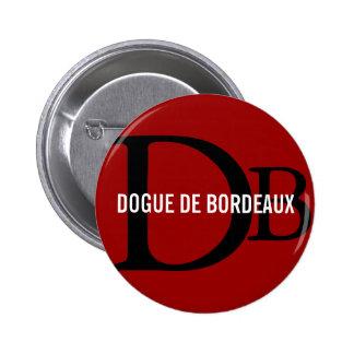 Dogue de Bordeaux Breed Monogram Pins