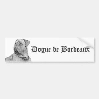 Dogue de Bordeaux bumper sticker Car Bumper Sticker