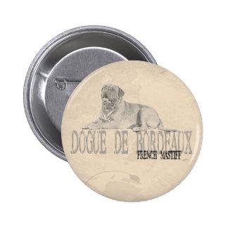 Dogue de Bordeaux Button