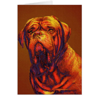 dogue de bordeaux card