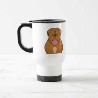 Dogue de Bordeaux Cartoon Coffee Mug