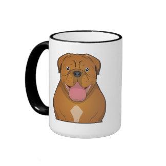 Dogue de Bordeaux Cartoon Mug