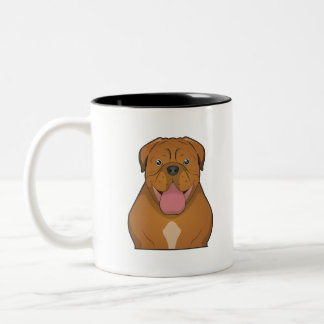 Dogue de Bordeaux Cartoon Coffee Mugs