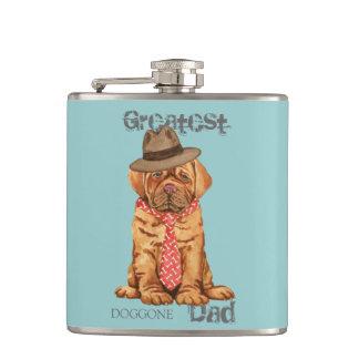 Dogue de Bordeaux Dad Hip Flask